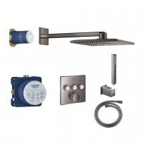 Duschsystem Unterputz Grohe Grohtherm SmartControl mit Rainshower 310 SmartActive Cube - 34706A00