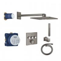Duschsystem Unterputz Grohe Grohtherm SmartControl mit Rainshower 310 SmartActive Cube - 34706AL0