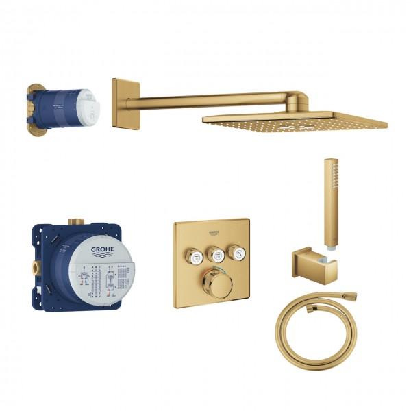 Duschsystem Unterputz Grohe Grohtherm SmartControl mit Rainshower 310 SmartActive Cube - 34706GN0