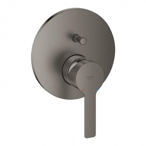 Einhand-Mischer Grohe Lineare für 2 Verbraucher mit Umschalter, hard graphite gebürstet - 24064AL1