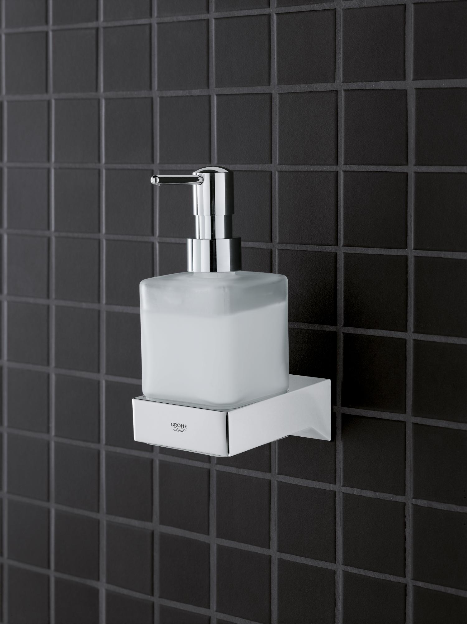 Wandhalter einzeln Grohe Selection Cube Ausführung chrom