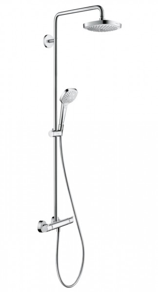 Duschsystem Hansgrohe Croma Select E Showerpipe 180 2jet - 27256400