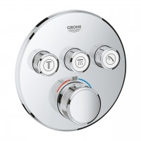 Thermostat Grohtherm SmartControl mit 3 Absperrventilen, Ausführung chrom - 29121000