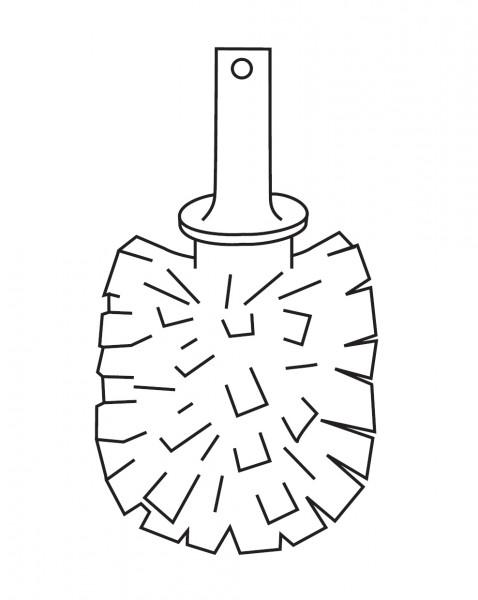 Ersatz-Bürstenkopf für Bürstengarnitur Inda - R38140023