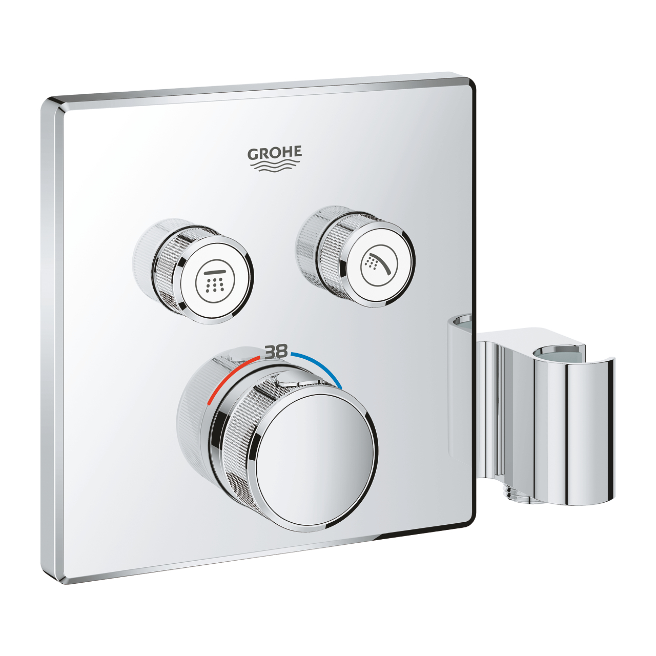 thermostat grohe grohtherm smartcontrol 29125000 online verkauf. Black Bedroom Furniture Sets. Home Design Ideas