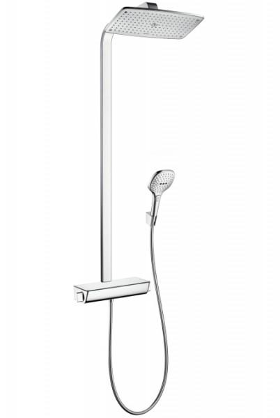 hansgrohe raindance select e 360 1jet showerpipe 27112000 duschsystem. Black Bedroom Furniture Sets. Home Design Ideas