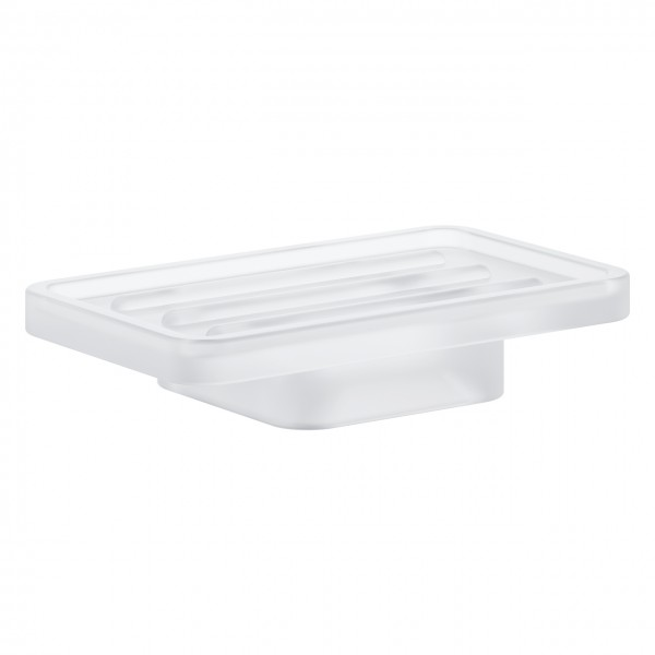 Seifenschale Echtglas Grohe Selection Cube satiniert - 40806000