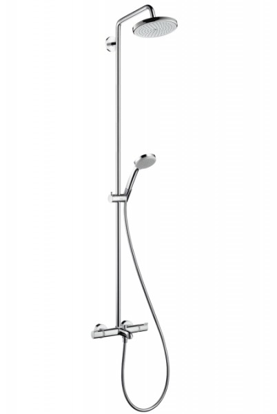 Duschsystem Hansgrohe Croma 220 Air 1jet Showerpipe - 27223000