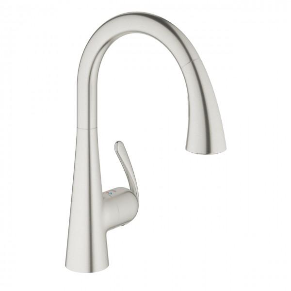 Grohe Zedra Küchenarmatur inox 32294SD1 | Online Verkauf