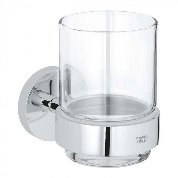 Mundglas mit Halter chrom Grohe Essentials - 40447001