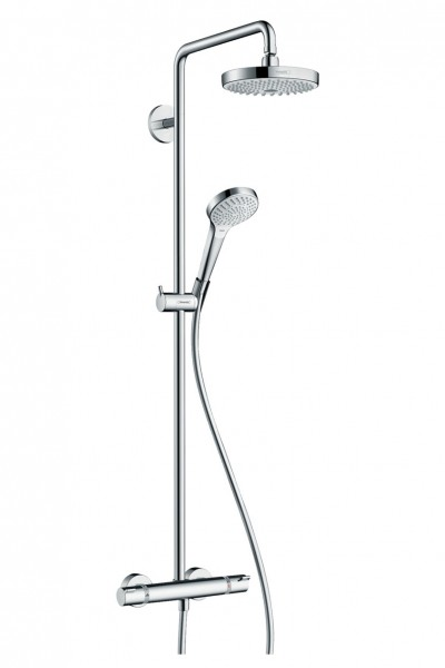 Duschsystem Hansgrohe Croma Select S 180 2jet Showerpipe EcoSmart 9 l/min - 27254400