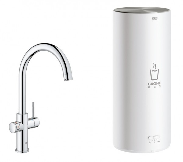 grohe red duo ii 30079001 x mit 7 liter boiler ohne filterset. Black Bedroom Furniture Sets. Home Design Ideas