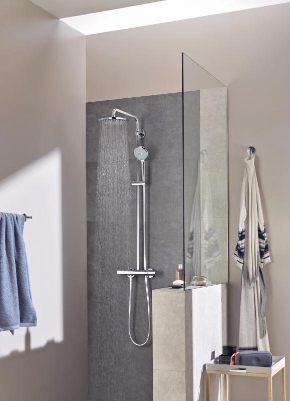 colonna sistema doccia grohe euphoria xxl system 210. Black Bedroom Furniture Sets. Home Design Ideas