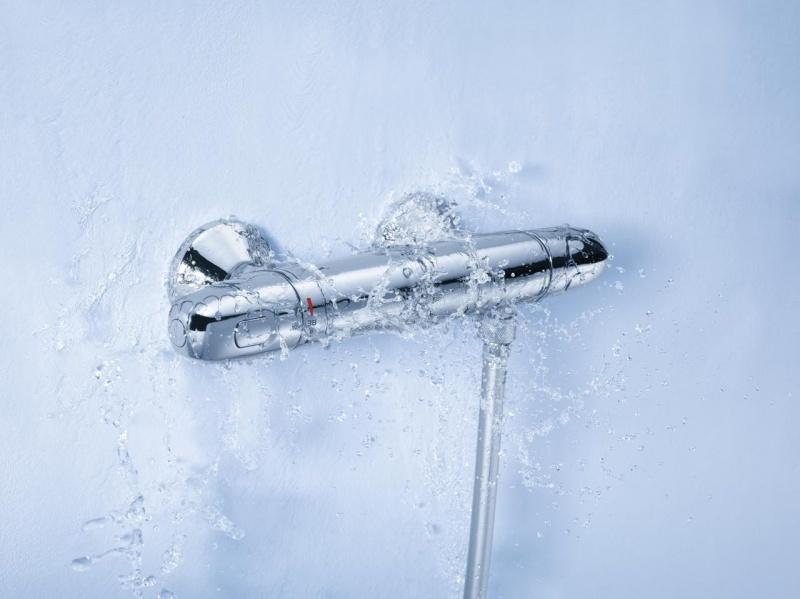 Grohe grohtherm 1000 new miscelatore termostatico - Thermostatique douche grohe ...