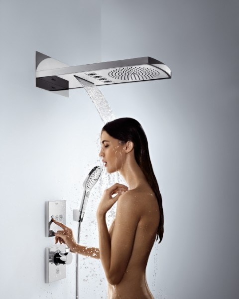 hansgrohe showerselect highflow 15761000 sichtteil thermostat. Black Bedroom Furniture Sets. Home Design Ideas